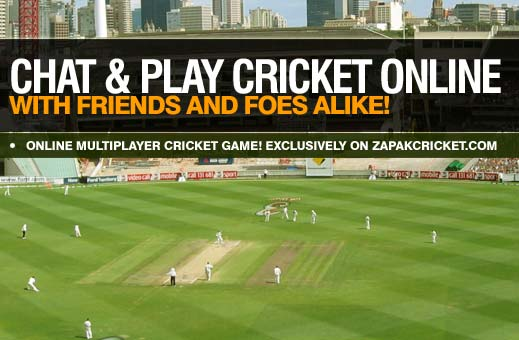 Chat & Play Cricket Online