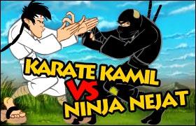 Karate Kamil vs Ninja Nejat