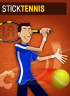 Free online games :Stick Tennis