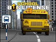 School Bus License 3 Game - New Games