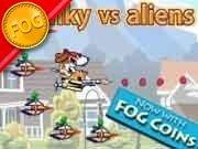 Spunky vs Aliens Game - New Games