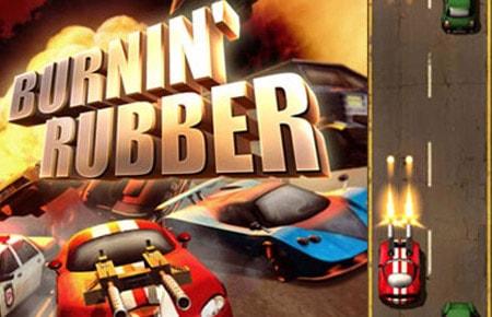 Burnin Rubber Game - Arcade Games