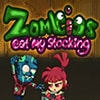 Zombies Eat My Stocking Game - Arcade Games