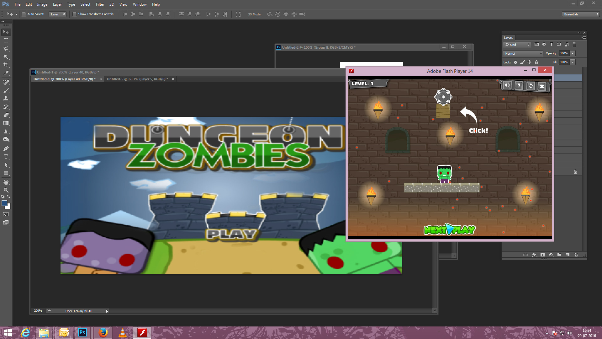 Dungeon Zombies Game - Zombie Games