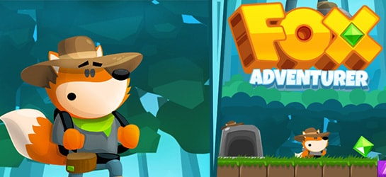Fox Adventurer Game - Adventure Games