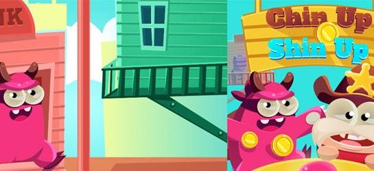 Chin Up Shin Up Game - Dress-up Games