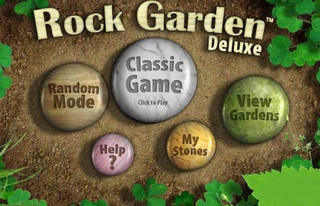 Rock Garden Deluxe Game - ZG - Puzzles Games
