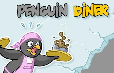 Penguin Diner Game - Arcade Games