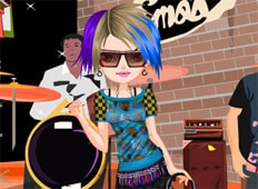 Lovable Emo Rock Star Game - Girls Games