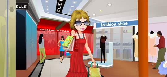 Shopping Mania Game - Girls Games