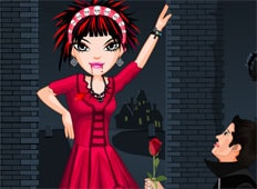 Vampire Valentine Game - Girls Games
