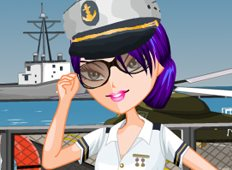 Navy Beauty Game - Girls Games