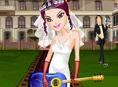 Bride Guitarist Game - Girls Games
