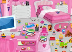 Little Princess Bedroom Game - Girls Games