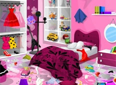 Barbie Bedroom Game - Girls Games