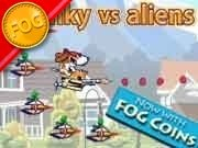 Spunky vs Aliens Game - New Games