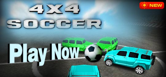 4x4 Soccer Game - Football Games