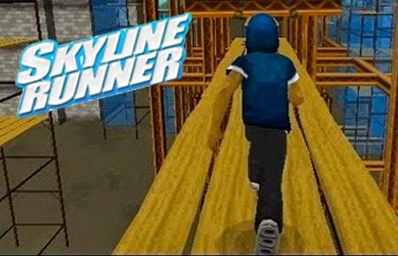 Skyline Runner Game - Racing Games