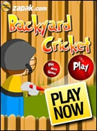Backyard Cricket Game - Cricket Games