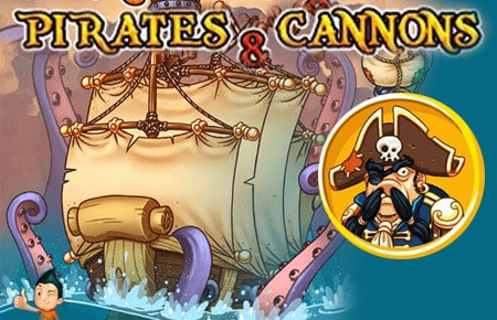 Pirate and Cannons Game - Arcade Games