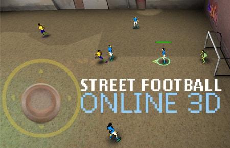 Street Football Online 3D Game - Sports Games