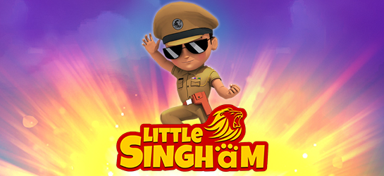 Little Singham Game - Action Games