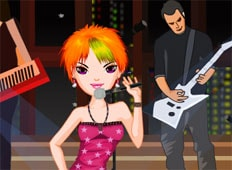 Punk Rock Star Game - Girls Games