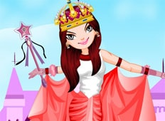 Princess On Air Game - Girls Games
