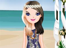 Hawaii Bride Game - Girls Games
