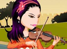 Violinist Priscilla Game - Girls Games