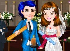 Candle wedding Game - Girls Games
