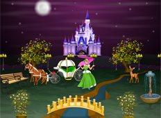Cinderella Palace Game - Girls Games